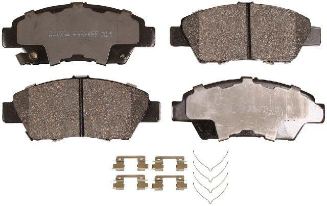 Hardware for 2009 2010 2011 2012 2013 Honda Fit Front Ceramic Brake Pads