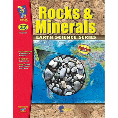 On The Mark Press OTM265 Rocks & Minerals Gr. 4-6