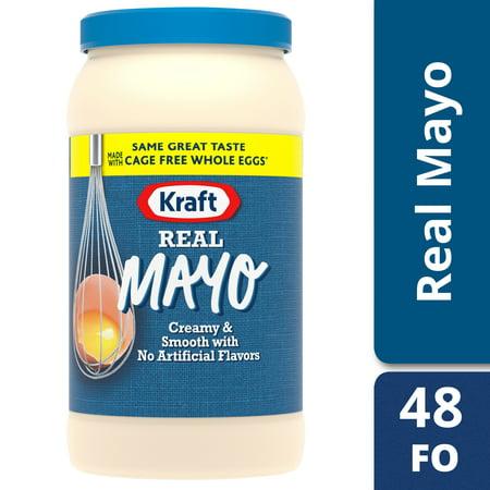 Kosher Mayonnaise - Kraft Real Mayo, 48 fl oz Jar