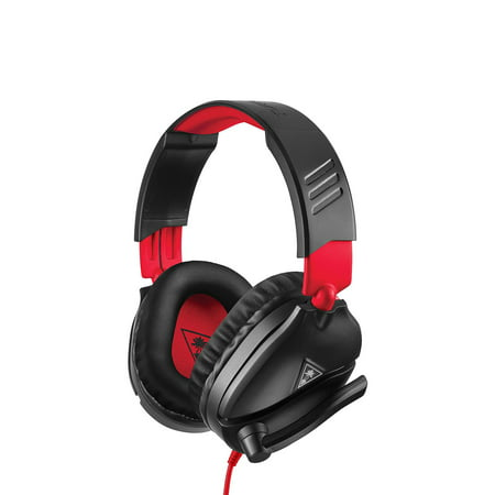 Recon 70 Wired Stereo Gaming Headset, Red & Black, Turtle Beach, Nintendo Switch, 731855080106