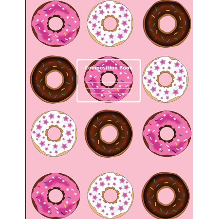 Donut Enthusiast, Composition Notebook: College Ruled, 7.44