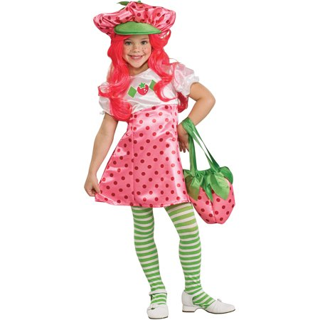 Strawberry Shortcake Child Halloween Costume](Strawberry Shortcake Halloween Makeup)