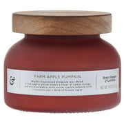 Better Homes & Gardens Farm Apple Pumpkin 18oz Scented 2-wick Candle