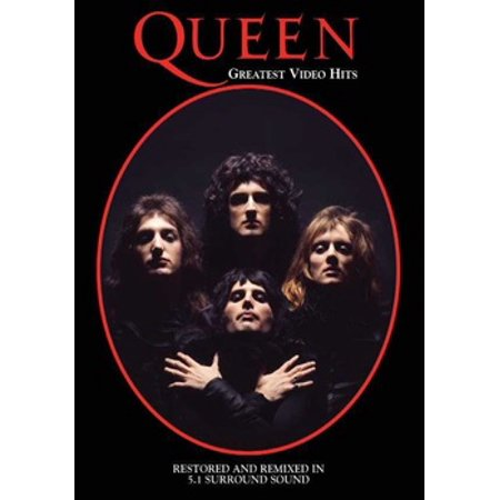 QUEEN-GREATEST VIDEO HITS (DVD/2 DISC) (DVD) (Videos Zu Sonnenbrille)