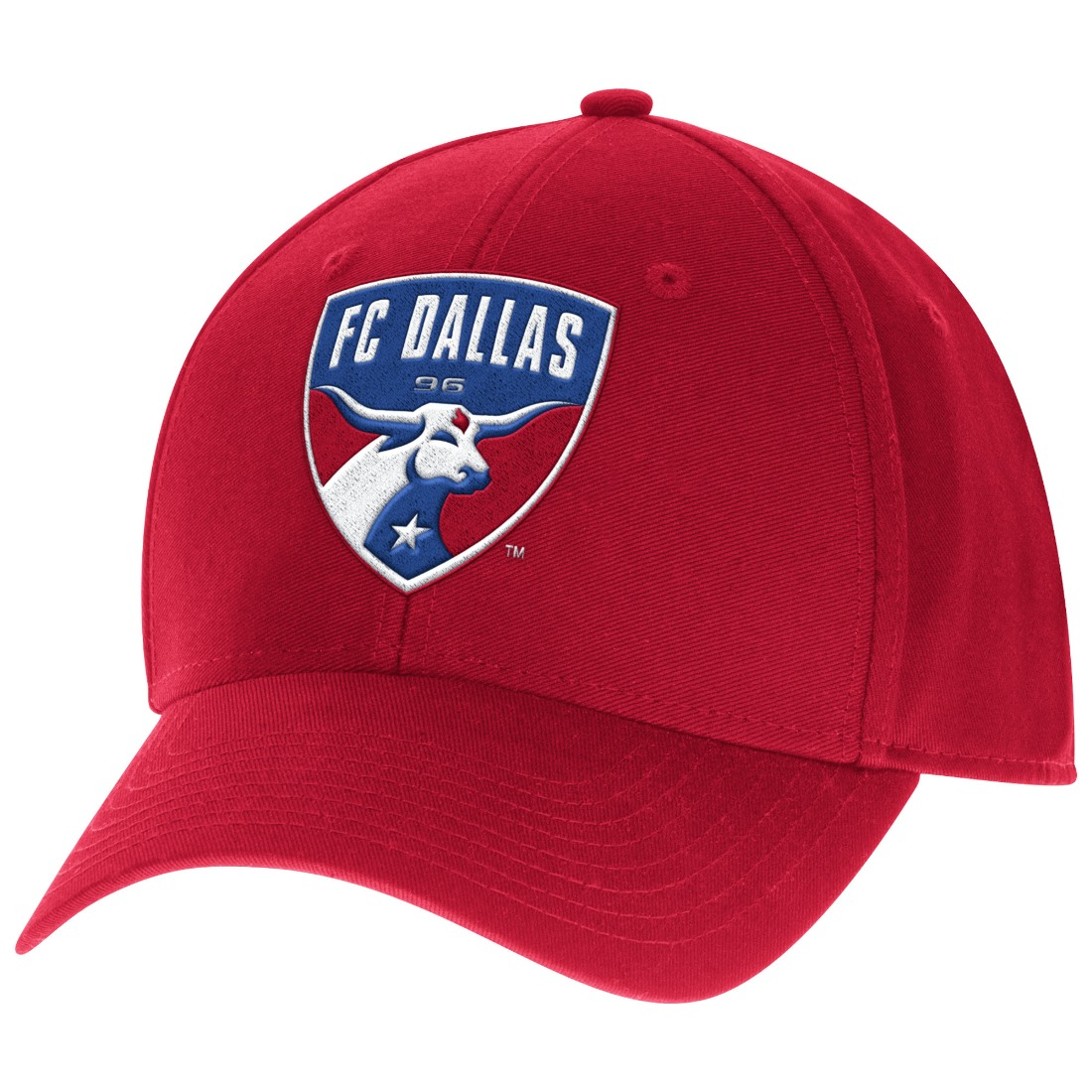 outlet store f06d6 6cccc ... new zealand product image fc dallas adidas mls team basics structured  adjustable hat cf734 f82e0