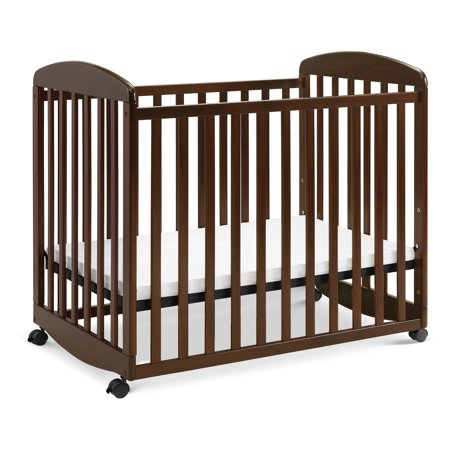 DaVinci Alpha Rocking Mini Crib Espresso Da Vinci Alpha Baby Crib