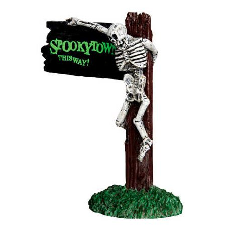 Bonnie Springs Halloween (Spooky Town Spookytown This Way # 44743Figurines and accessories make your Lemax Spooky Town Halloween villages spring to life . . . By)
