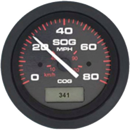 SIERRA Amega Black Domed 80 MPH GPS Speedometer