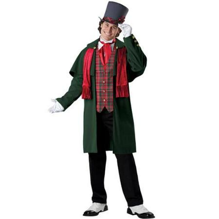Yuletide Gent Victorian Carol Singer Mens Christmas Costume