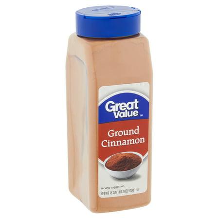 Great Value Ground Cinnamon, 18 oz