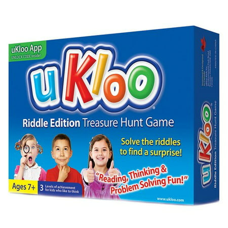 uKloo Riddle Edition Treasure Hunt Game](Treasure Game)