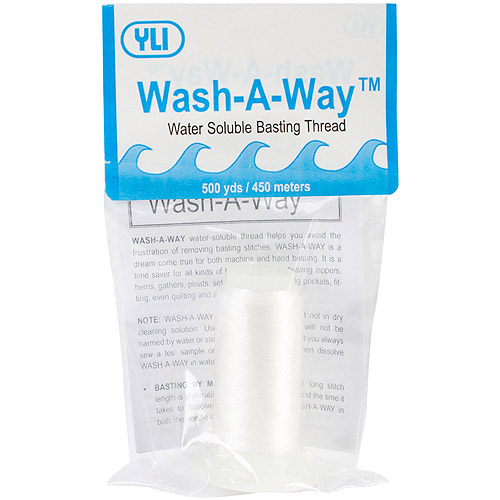 YLI Wash-A-Way Thread, 500 yds