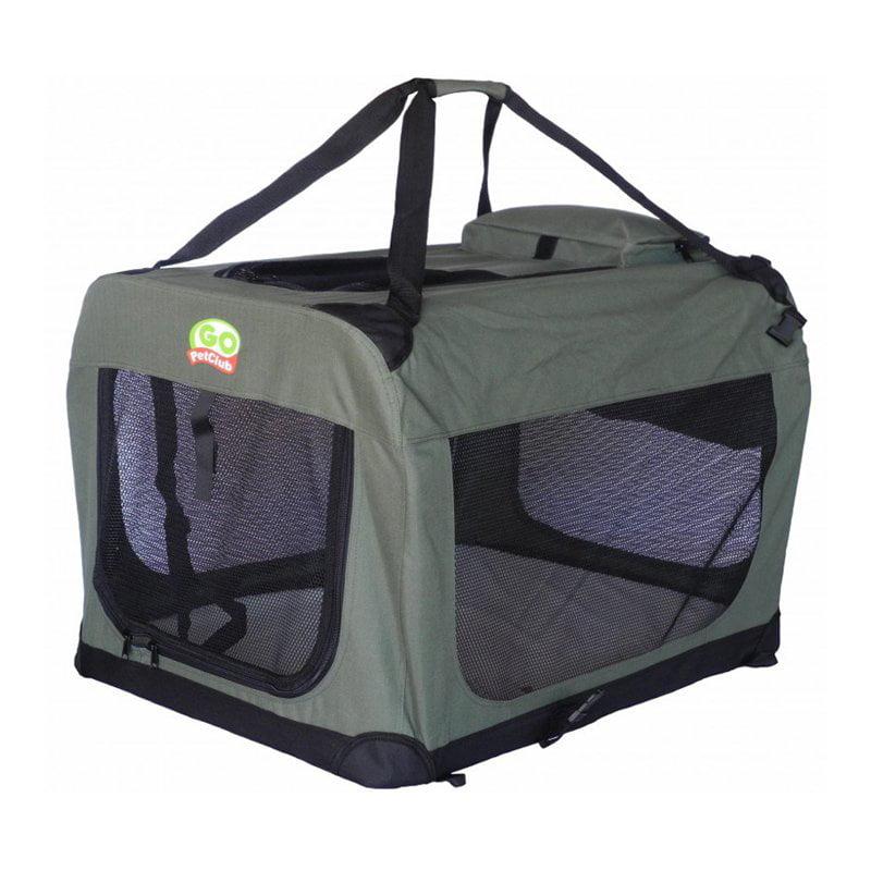 Go Pet Club Dog Pet Soft Crate - Sage
