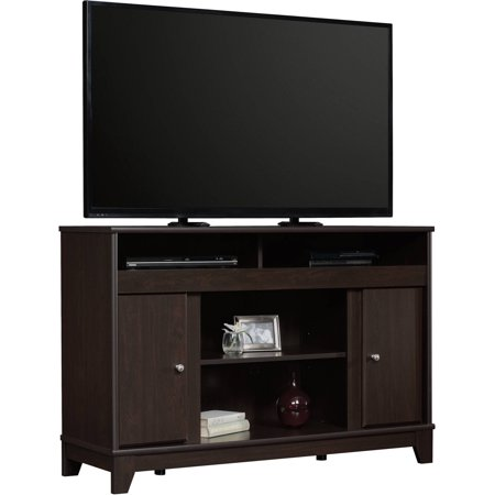 Sauder Camarin Entertainment Credenza for TVs up to 50″, Jamocha Wood Finish
