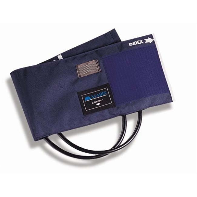 Mabis 05-269-015 Sphygmomanometer Cuff and One Tube Bladder - Blue Nylon Child
