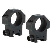 Sig Sauer Alpha Hunting Scope Tactical Rings 30mm High, Matte Black - SOA10005