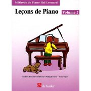 Piano Lessons Book 2 - French Edition : Hal Leonard Student Piano Library