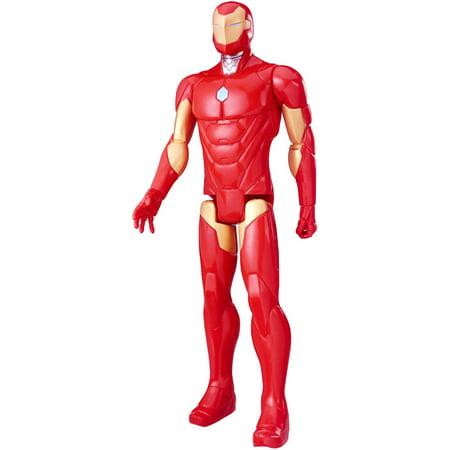 "Marvel Titan Hero Series 12"" Iron Man Figure"