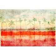 Parvez Taj Palm Beach Art Print On Premium Canvas