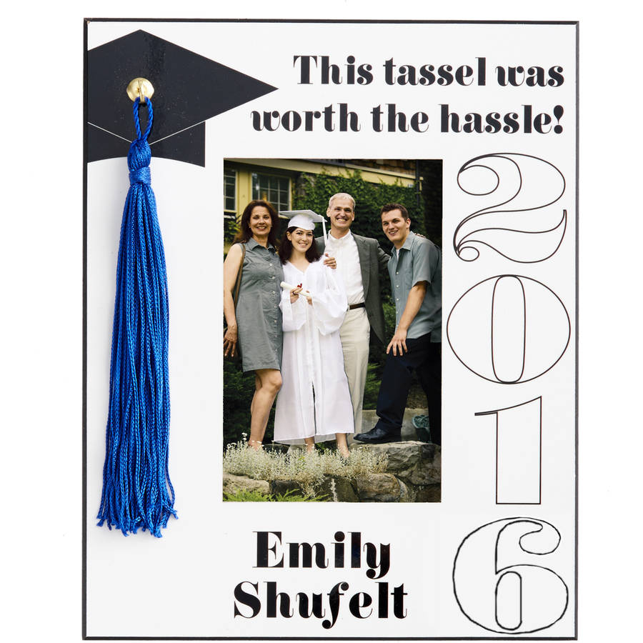 Personalized Tassel Graduation Frame