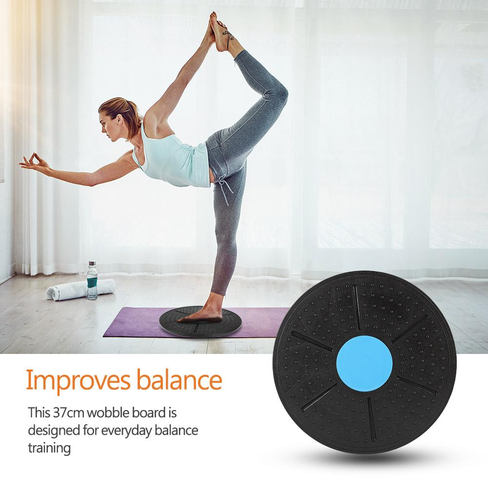 Balance Board Exercise Fitness Workout Rehabilitation Wobble Board Gym Workout