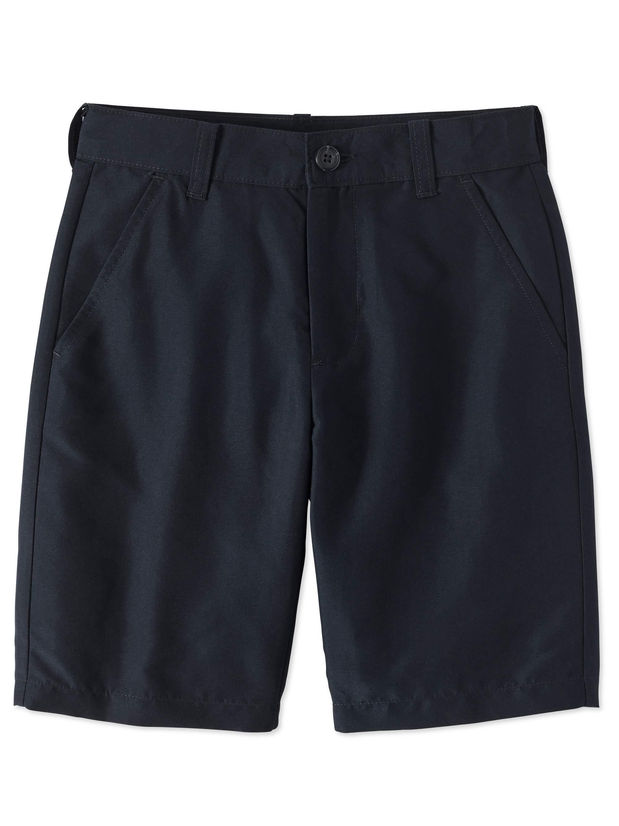 Boys Husky School Uniform Performance Shorts