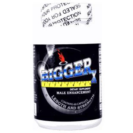Bigger X Male Enhancement 60 Capsules