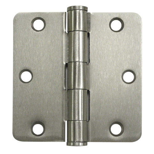 Deltana 3.5'' H x 3.5'' W Butt/Ball Bearing Single Door Hinge (Set of 2)