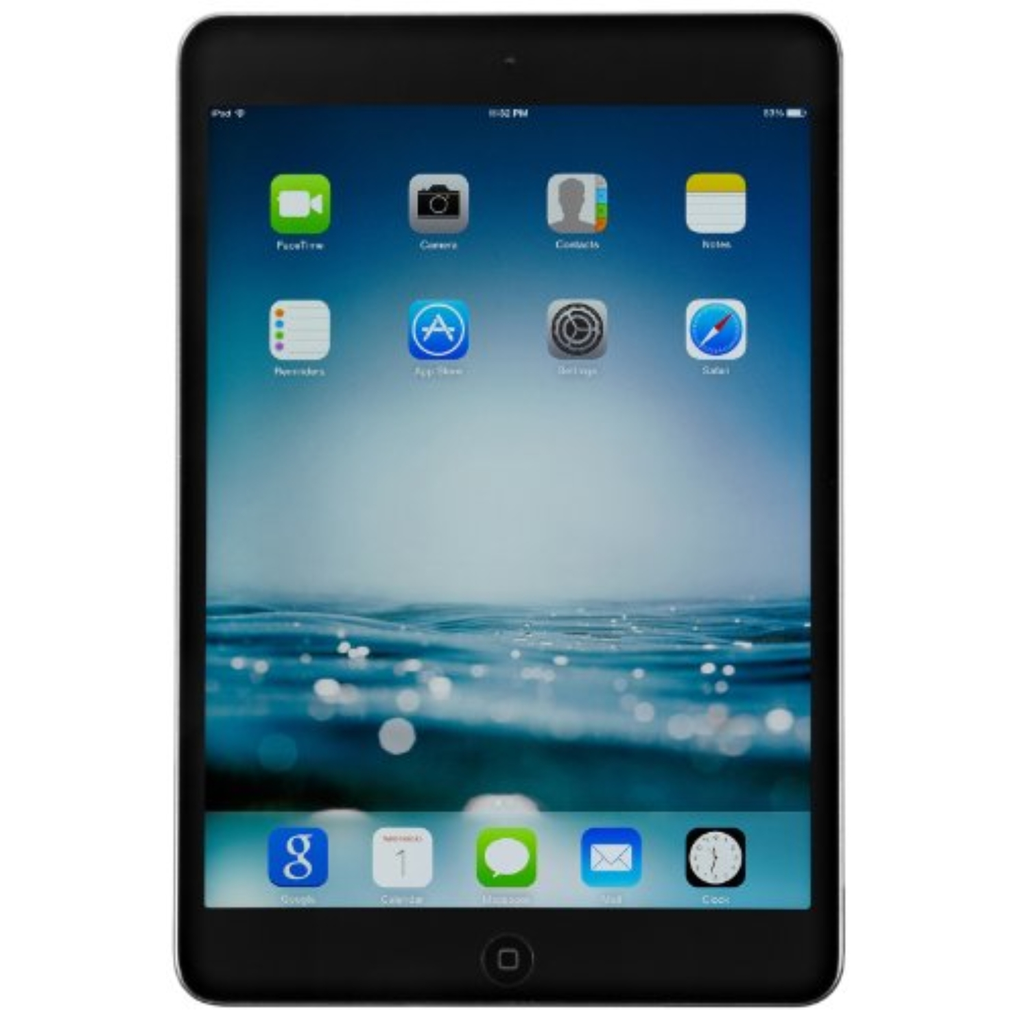 Refurbished Apple iPad Mini 2 with Retina Display ME276LL/A 16GB  Wi-Fi  Black with Space Gray