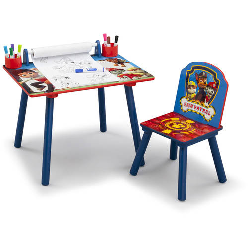 Delta Children Nick Jr Paw Patrol Art Desk With Chair