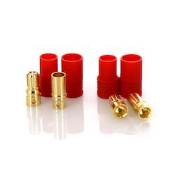 PRC6 Male and Female Bullet Connector Set for Battery ESC and Charge Lead 1 Pair - Female Bullet Connector