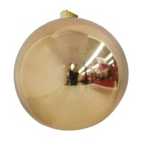 Holiday Time Shatterproof Ornament, Copper