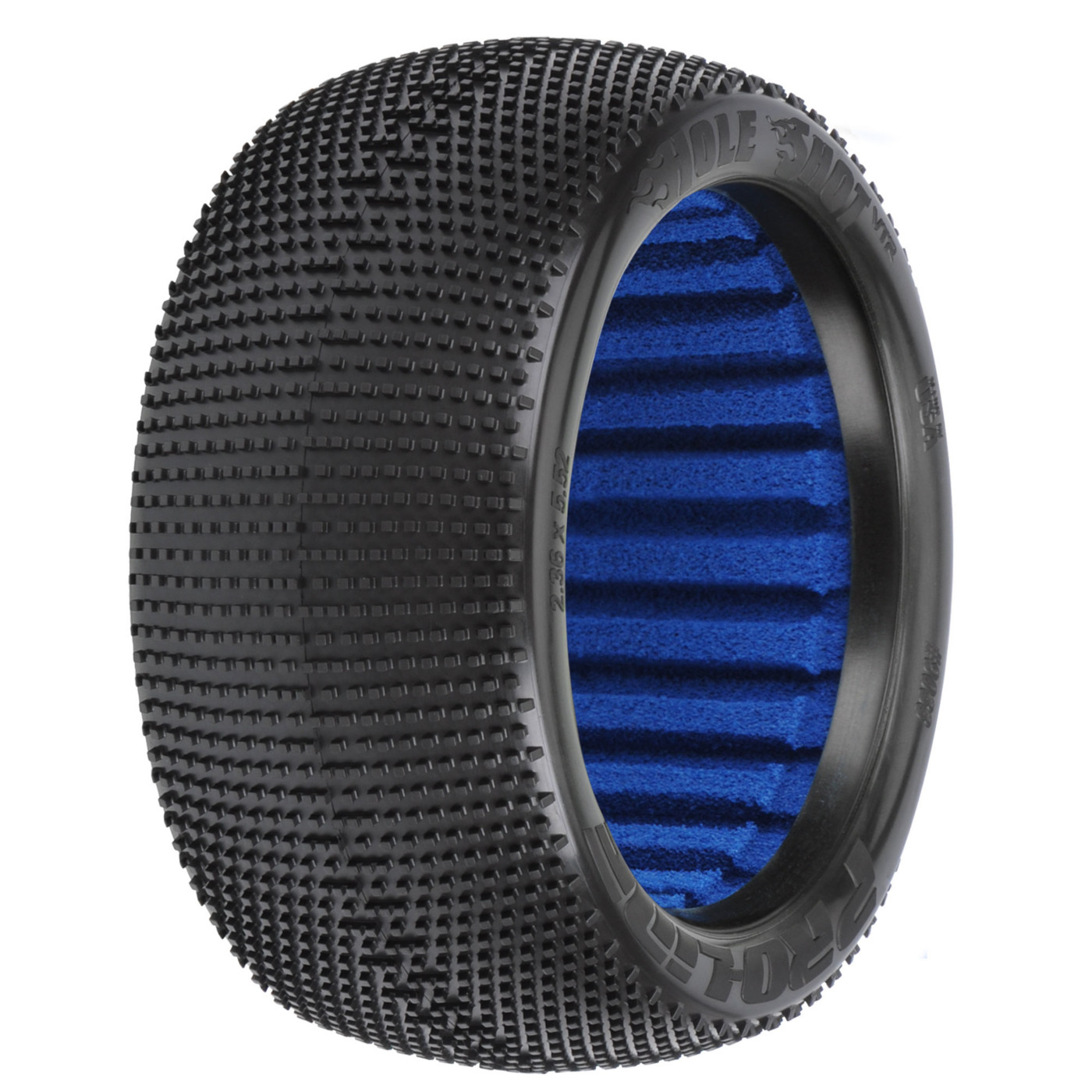 Pro-line Racing 1/8 Hole Shot VTR 4.0 S3 Soft Off-Road Tire (2): Truck, PRO9033203