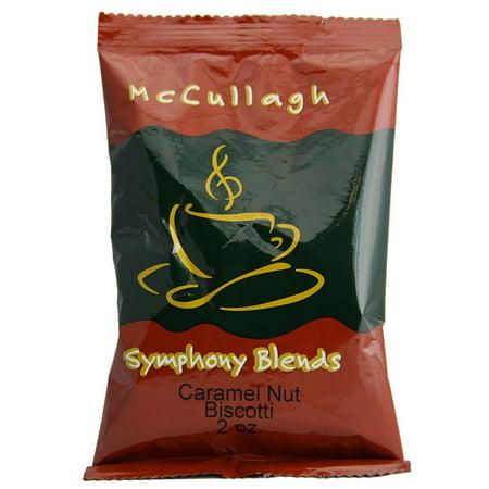 McCullagh Gourmet Coffee Caramel Nut 2 oz. 40 ct. - Gourmet Halloween Caramel Apples
