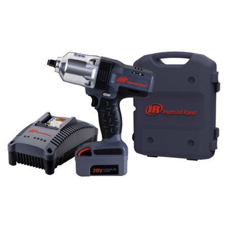 Ingersoll Rand W7150 K12 20V 5 0 Ah Cordless Lithium Ion 1 2 In  High Torque Impact Wrench With 1 Battery
