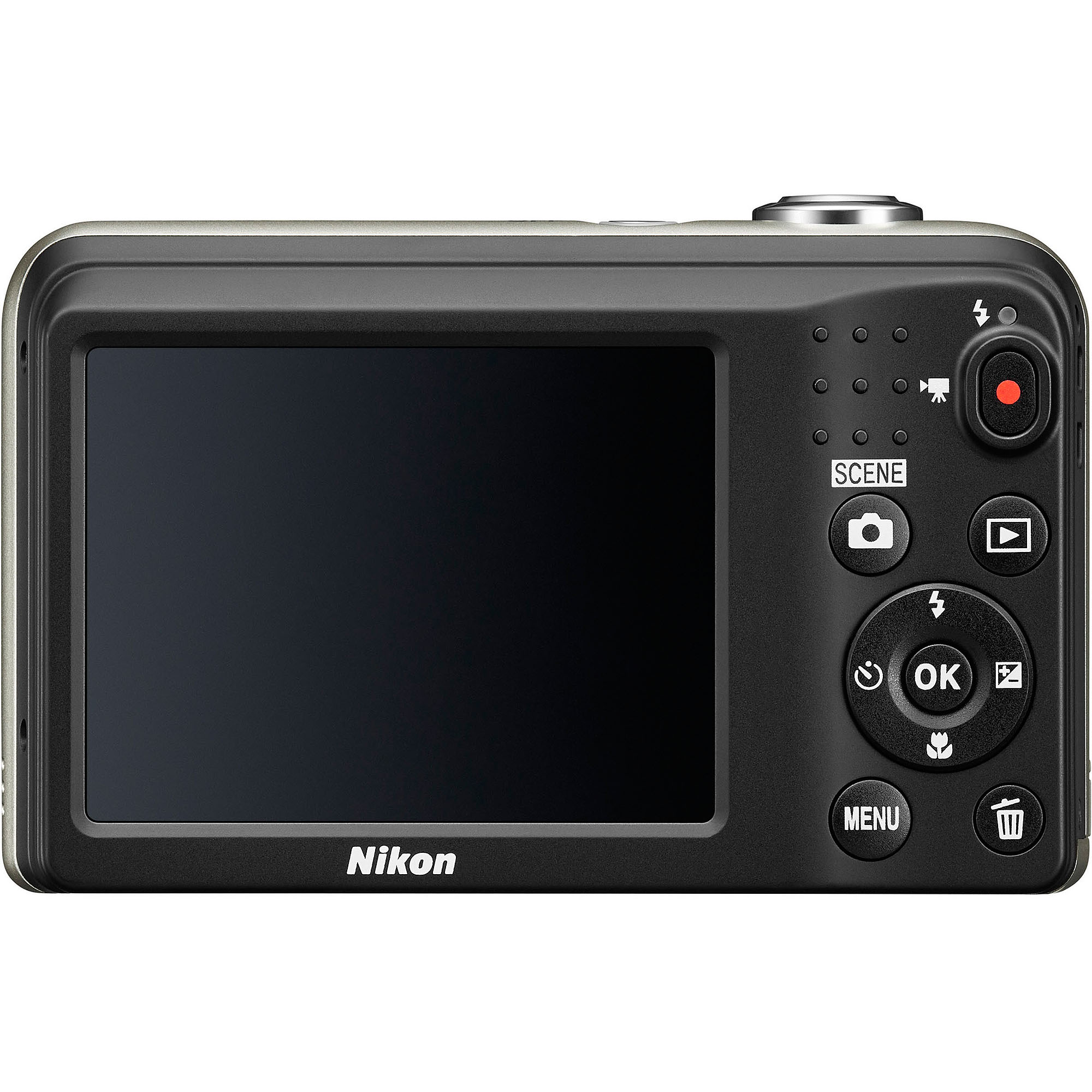 Nikon COOLPIX L29 Digital Camera with 16.1 Megapixels and 5x Optical Zoom (Available in Red and Silver)