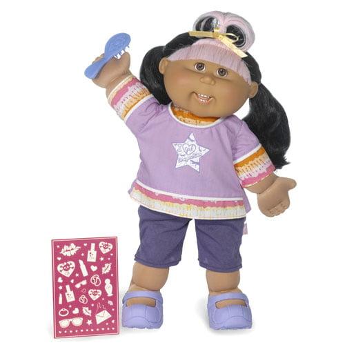 Magic Glow Surprise Cabbage Patch Kid Hispanic Girl, Black Hair