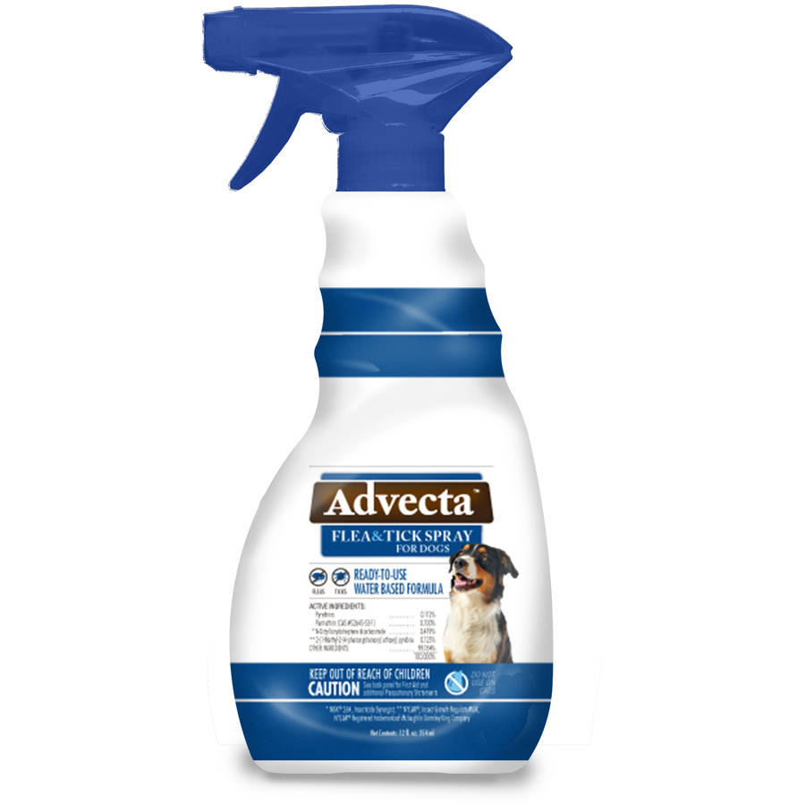 Image of Advecta Flea and Tick Spray - Spray Treatment for Dogs, 12 fl oz