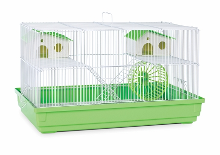 Deluxe Hamster & Gerbil Cage Bordeaux Red Small Pet Products Pet Animal Supplies by