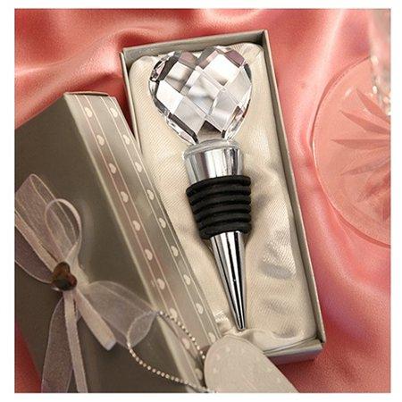 Swarovski Crystal Wine Stopper (I Heart Wine Crystal Heart Wine Stopper)