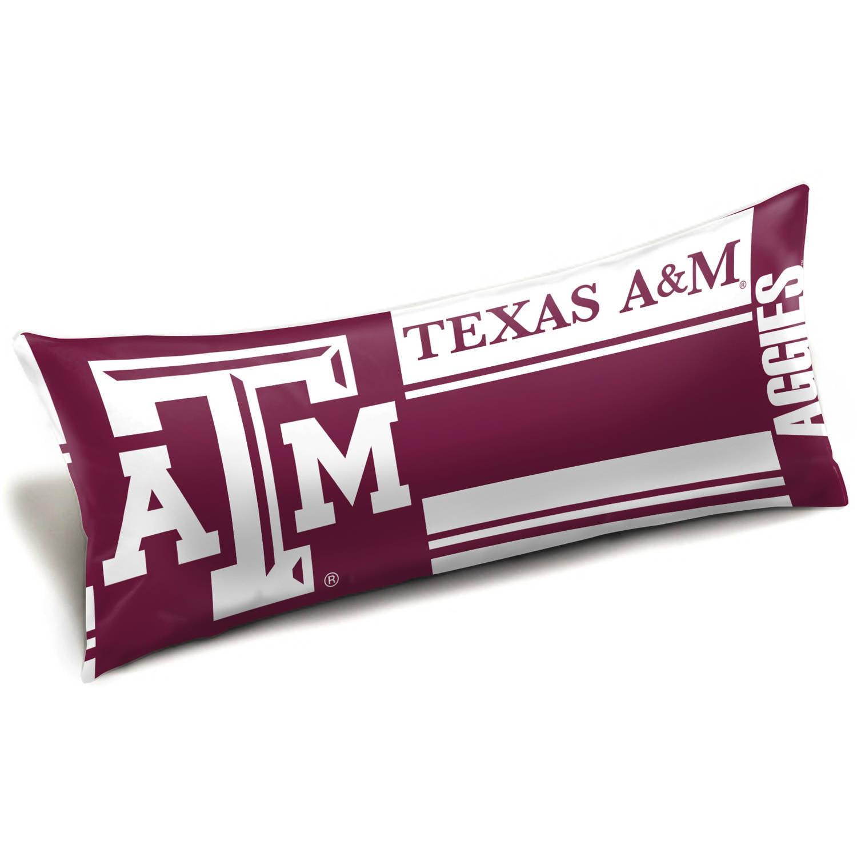 """NCAA Texas A&M Aggies """"Seal"""" Body Pillow"""