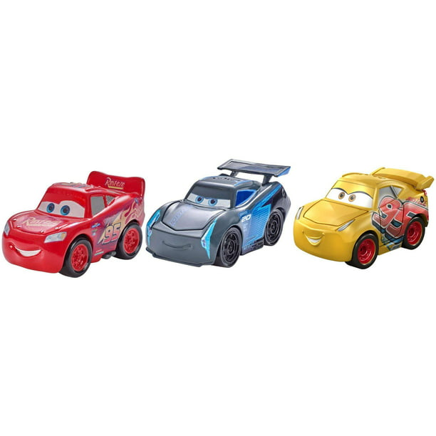 Disney Pixar Cars Mini Racers Vehicle Cars 3 Racers 3 Pack