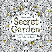 Secret Garden: An Inky Treasure Hunt and Coloring Book (for Adults, Mindfulness Coloring) (Paperback)