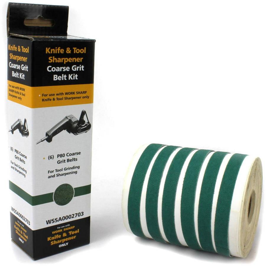 Work Sharp P80 Ceramic Oxide Abrasive Belt