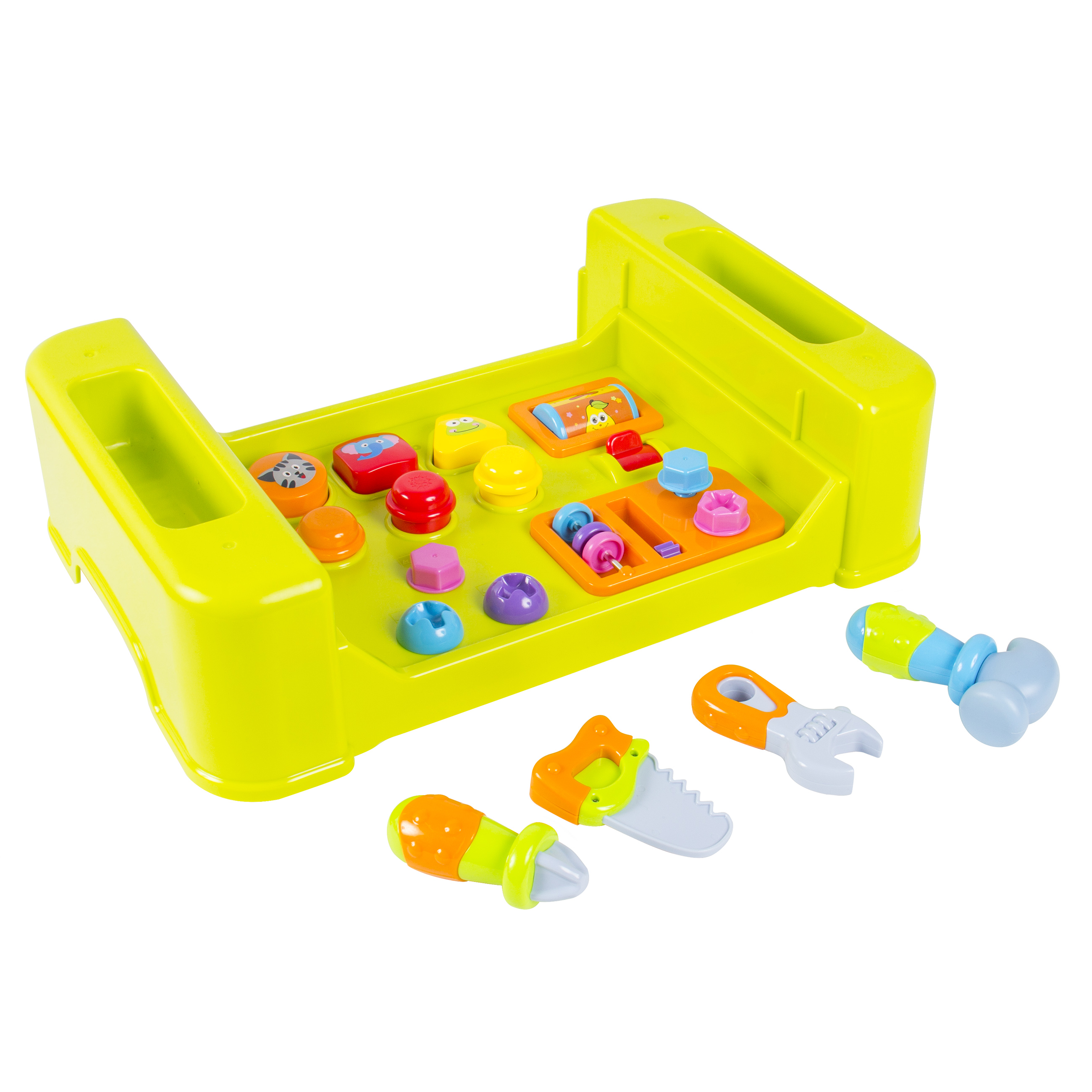 Kids Learning Activity Table With Quiz Music Lights Shapes Toolore