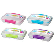 Sistema Small Split To Go Divided Snack Container