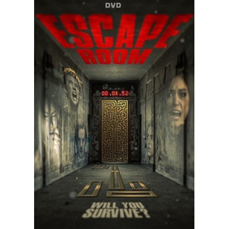 Escape Room (DVD) (Room Escape Halloween 2017)