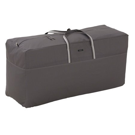 Classic Accessories Ravenna Patio Furniture Cushion Storage Bag, Taupe ()