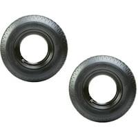 2-Pk Homaster Motor Mobile Home Trailer Tire Rim MH 8-14.5 LRG Bias 14.5 x 6