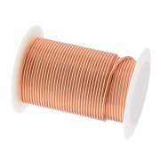 Tarnish Resistant Bright Copper Wire Heavy 16 Gauge 8 Yards (7.3 Meters)